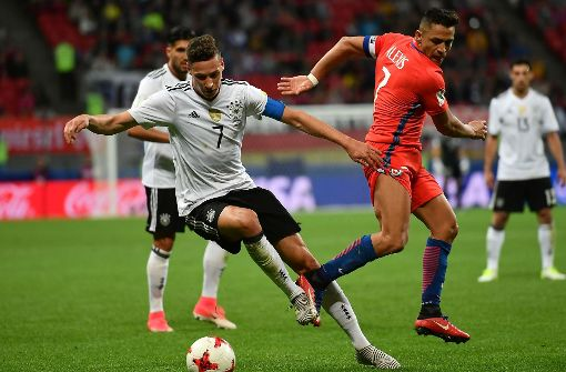 Deutschland erkämpft Unentschieden gegen Chile