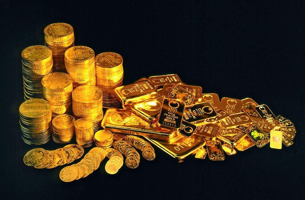 Der Angeklagte soll im Januar 2017 vier Interessenten auf der Online-Plattform Ebay insgesamt zehn Goldmünzen im Wert von rund 10000 Euro verkauft haben, die noch gar nicht in seinem Besitz waren. Foto: dpa