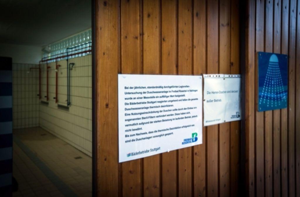 Gäste des Freibads in Vaihingen sind verärgert: Ihrer Meinung nach wurden sie zu spät informiert. Foto: Lg/Zweygarth