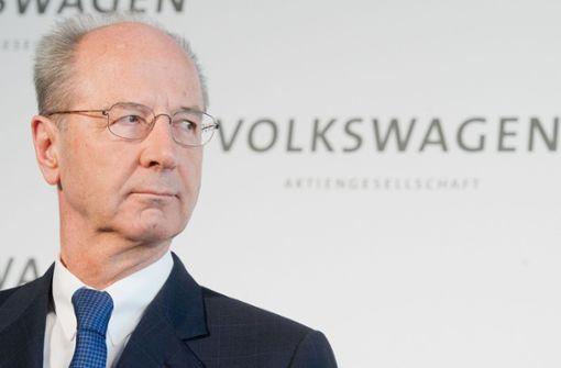 Staatsanwaltschaft erhebt Anklage gegen VW-Spitze