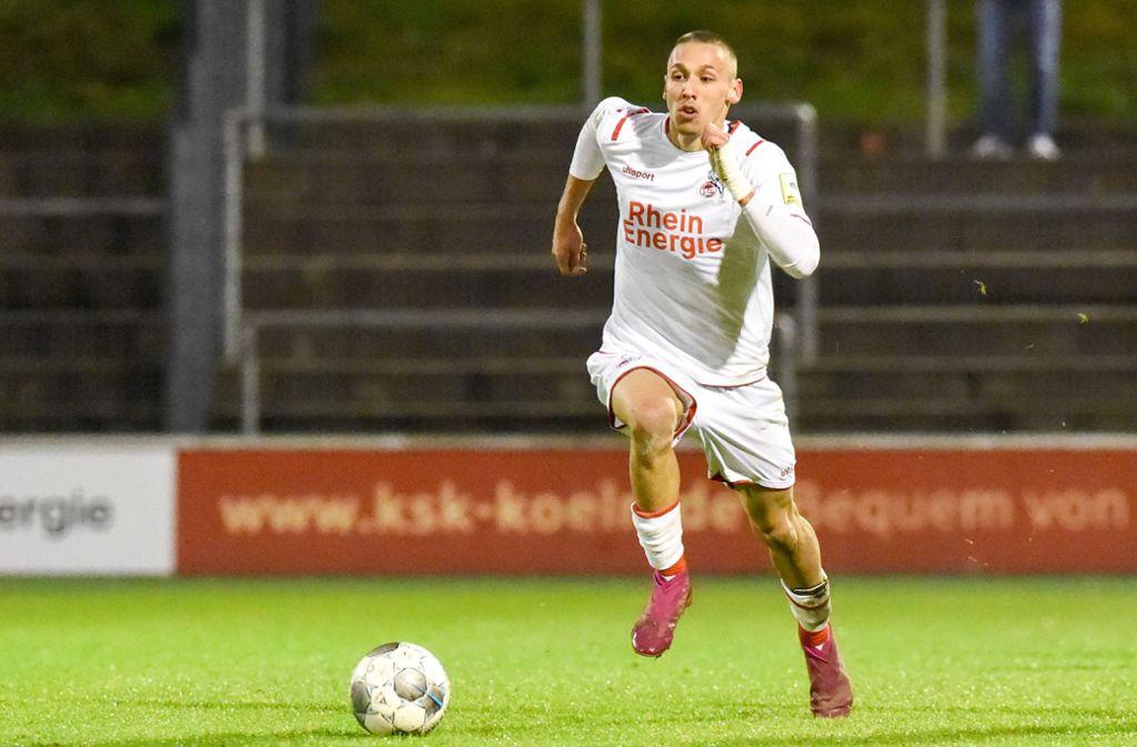 Bald beim VfB Stuttgart? Darko Churlinov vom 1. FC Köln Foto: imago//Manfred Heyne