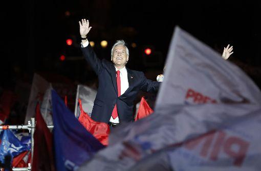 Piñera wieder zum Präsidenten von Chile gewählt