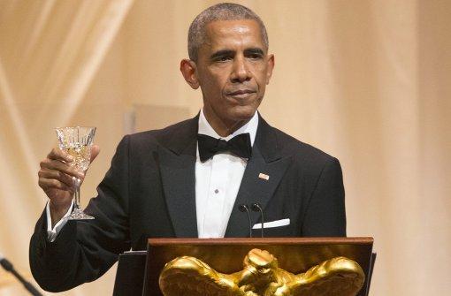 Ein bittersüßer Moment für Obama