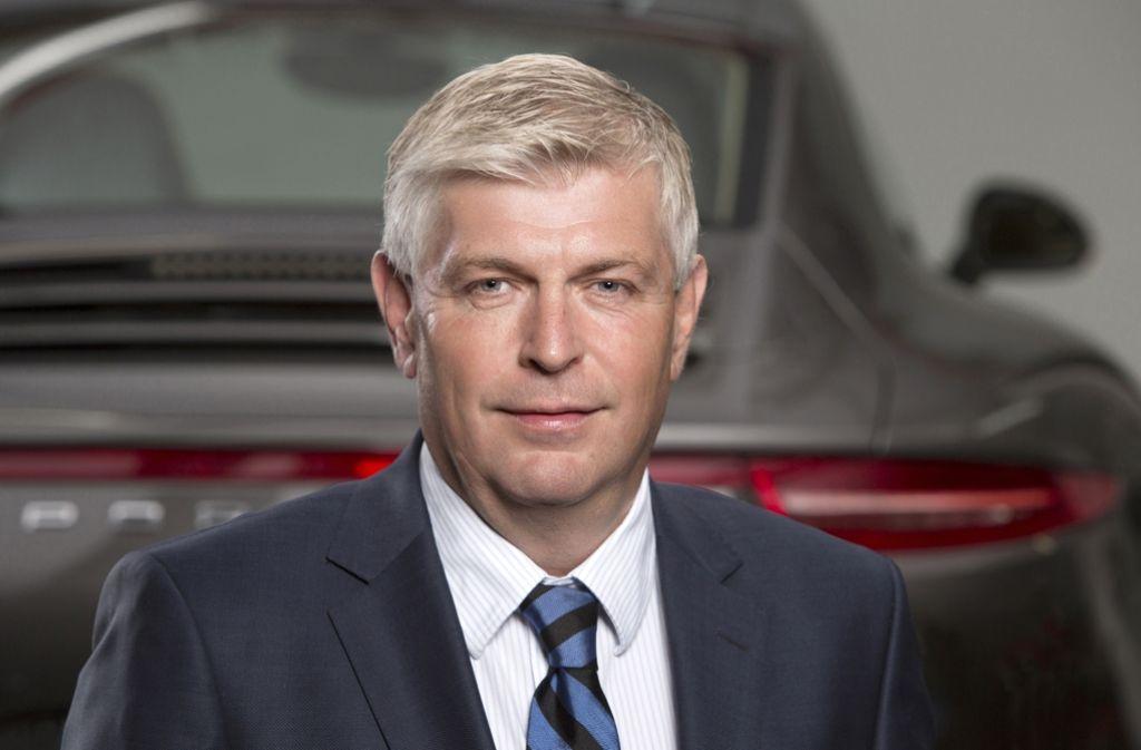 Wolfgang Hatz, bislang Entwicklungschef bei Porsche Foto: