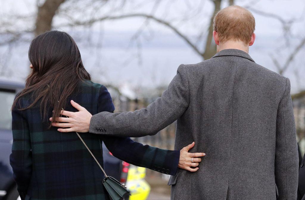 Herzogin Meghan und Prinz Harry haben ihre Entscheidung getroffen: Die Windsors sollen künftig ohne sie klar kommen. Foto: dpa/Frank Augstein