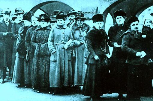 Filderstadt feiert das Frauenwahlrecht