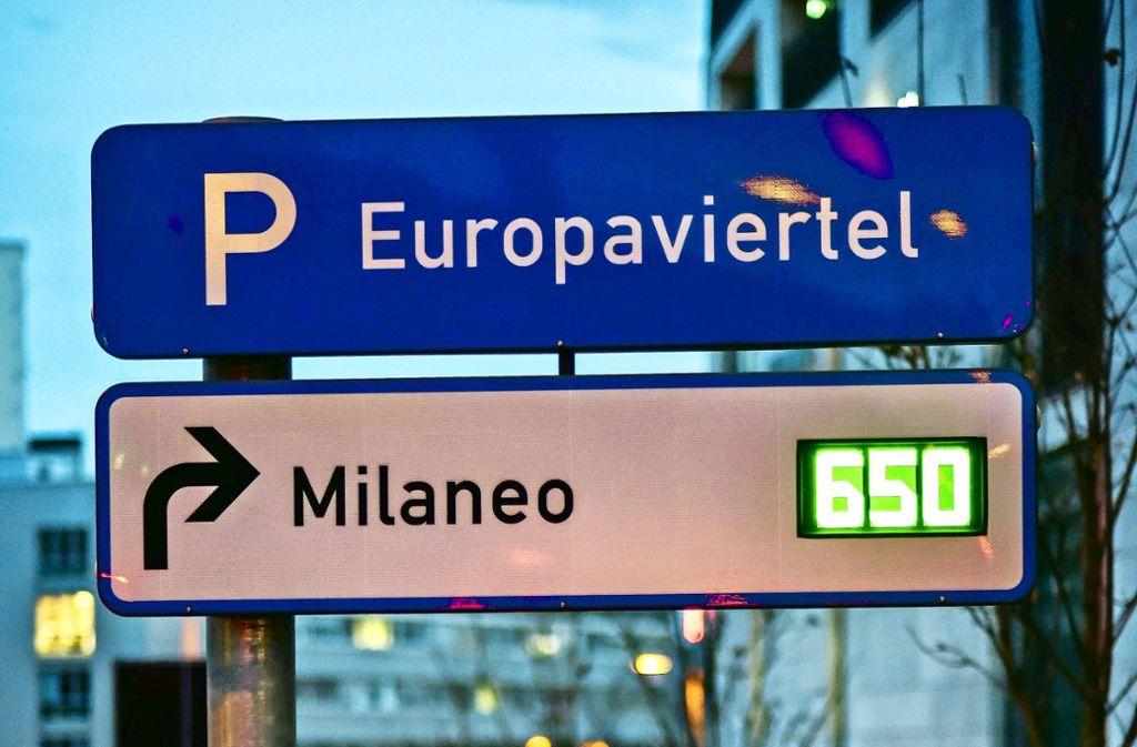 Die Stellplätze im Milaneo sind an den langen Einkaufsnächten ruckzuck weg. Foto: /Foto: LG/Max Kovalenko