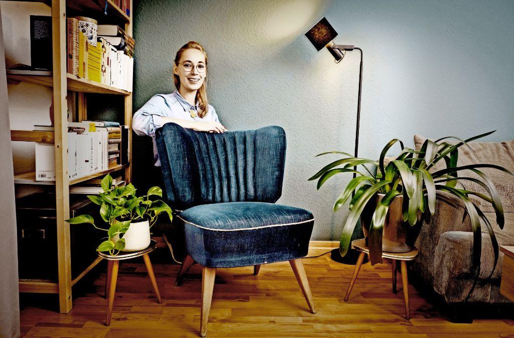 Nur der Geruch ist weg: Sonst ist der Sessel noch im Originalzustand. Foto: Lg/Zweygarth