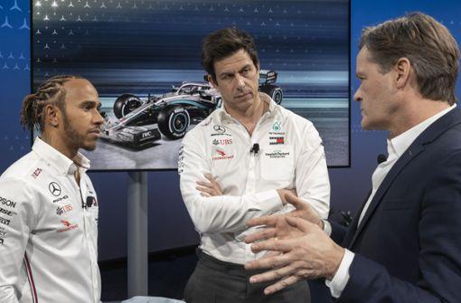 Die Formel-1-Rechnung von  Mercedes