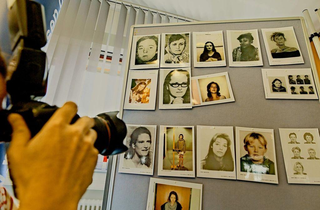 Fotos von Mordopfern: Hinter einer Mordserie   steckt wohl ein bis dahin unbescholtener Familienvater aus Schwalbach. Foto: dpa, StZ