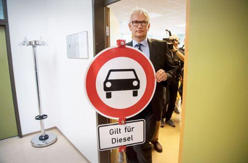 Auch Reutlingen soll Diesel verbannen
