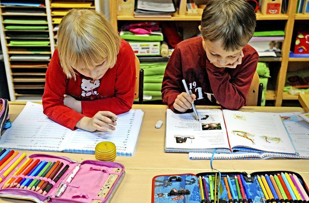 Grundschüler sollen bald einen Anspruch auf Ganztagsbetreuung bekommen. Foto: dpa