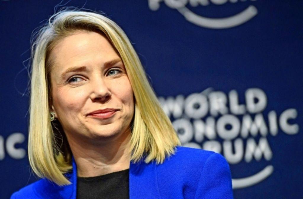 Weibliche Führungskräfte wie Yahoo-Chefin Marissa Mayer sind im Silicon Valley selten. Zudem  stehen die Frauen  unter dem enormen Druck, dass ihre  Elternrolle keinen Einfluss auf ihre Produktivität haben darf. Foto: dpa