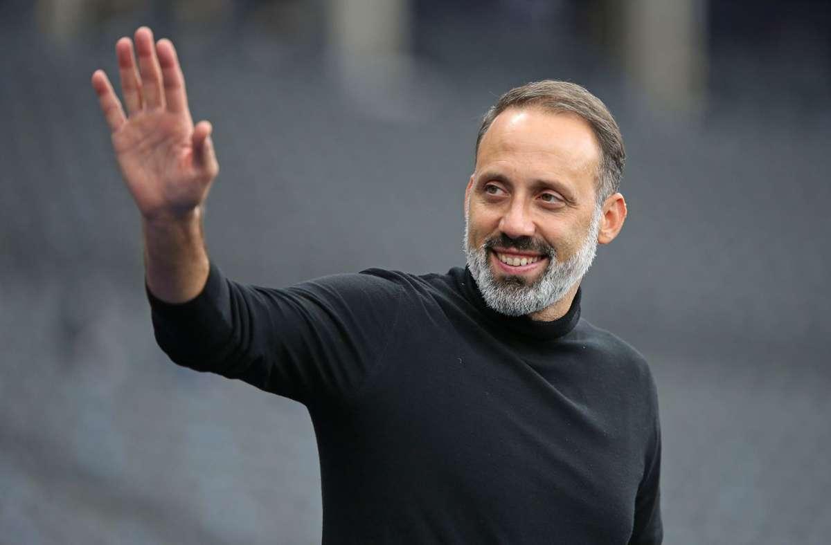 Grüßt von Platz sieben der Bundesligatabelle: VfB-Trainer Pellegrino Matarazzo Foto: Baumann