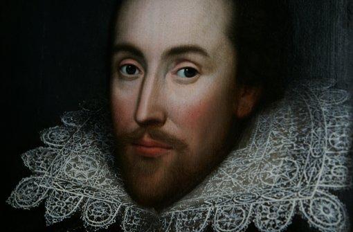 Dieses Porträt zeigt angeblich William Shakespeare, aber ganz sicher ist das nicht. Foto: AP