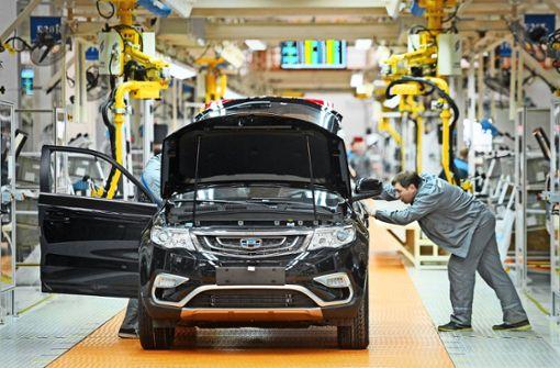 Geely-Einstieg bei Daimler wirft Fragen auf