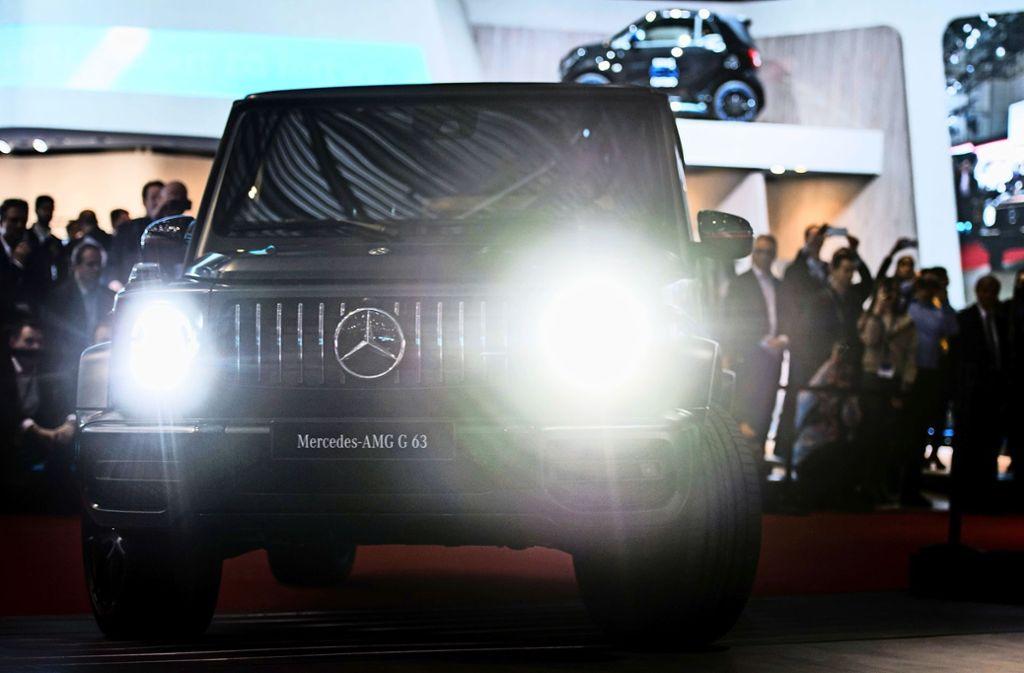 Der neue G 63 ist schnell auf Tempo 100, schluckt aber auch eine Menge Sprit. Der Durchschnittsverbrauch liegt laut Mercedes bei 13,2 Litern auf 100 Kilometern. Foto: Getty Images Europe