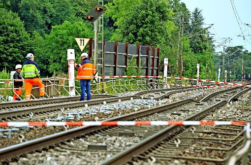 Rheintalbahn länger lahmgelegt