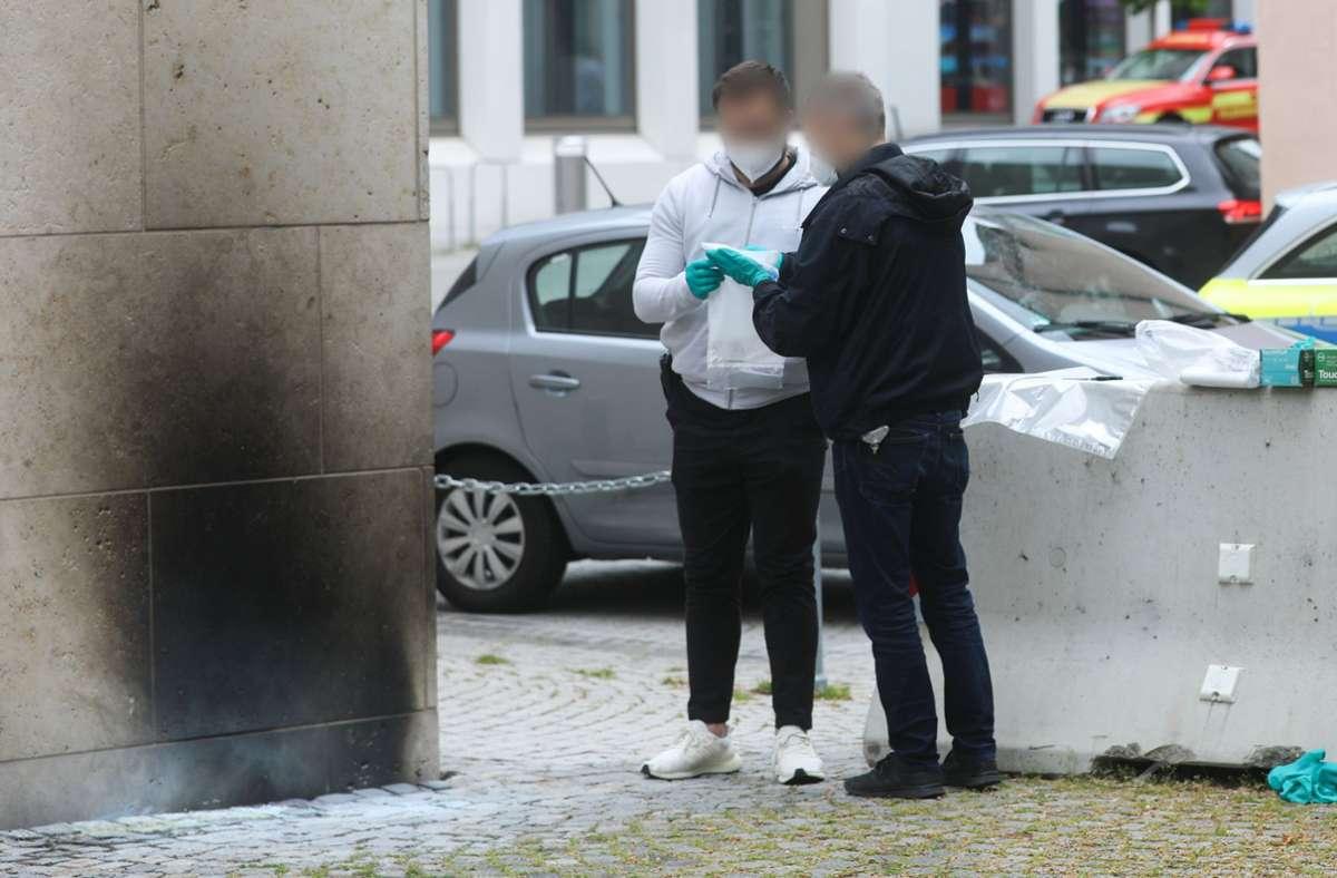 Nach wie vor ist unbekannt, wer für den Brandanschlag auf eine Synagoge in Ulm verantwortlich ist. (Archivbild) Foto: dpa/Ralf Zwiebler