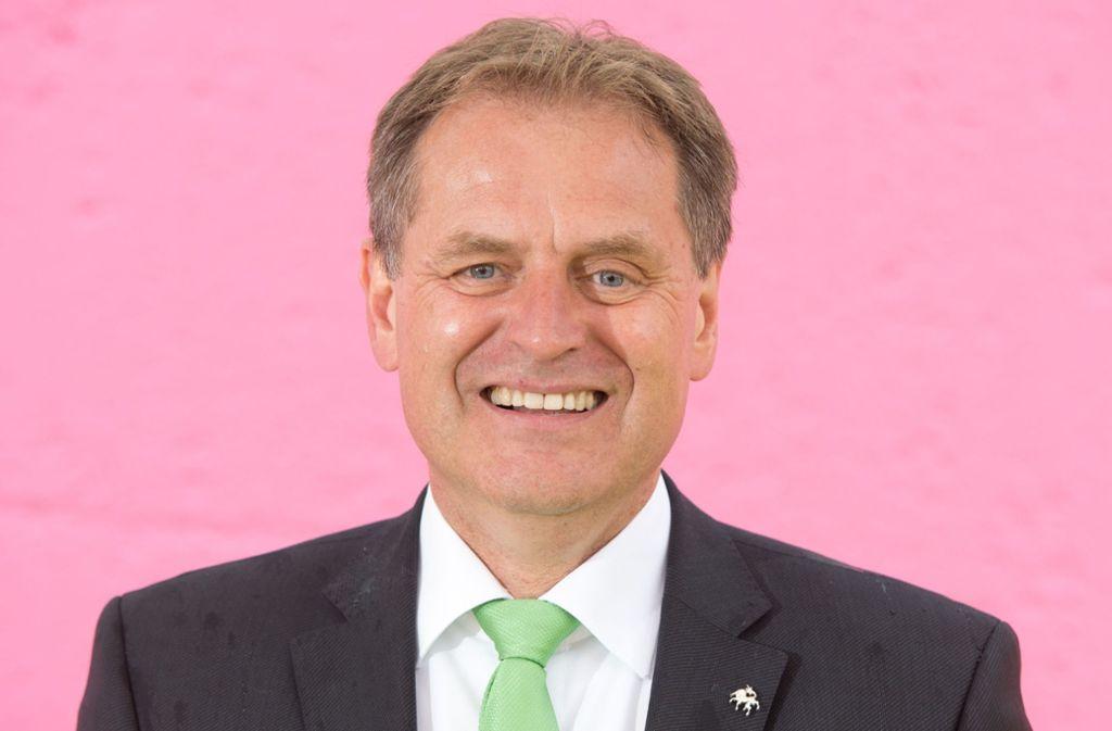 Richard Arnold (61) geht bei der Stuttgarter OB-Wahl im November nicht für die CDU ins Rennen. Foto: dpa/Sebastian Kahnert