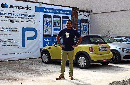 Mit dem Smartphone gegen die Parkplatznot