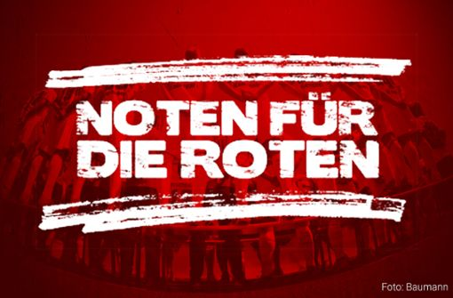 Bewerten Sie die Leistungen der VfB-Spieler