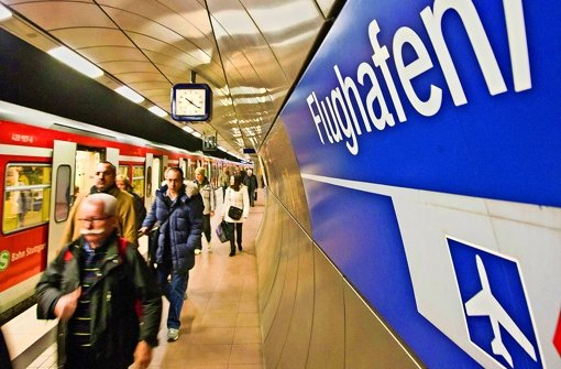 Aus Sicht der Verkehrswissenschaftler leidet die S-Bahn unter der Fildertrasse. Foto: M.  Steinert