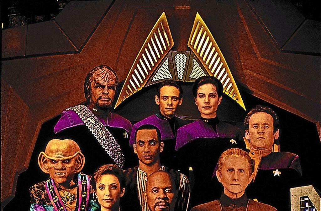 Die Crew der Raumstation Deep Space Nine, einer der Serien, die im Star-Trek-Universum spielen. Foto: Archiv