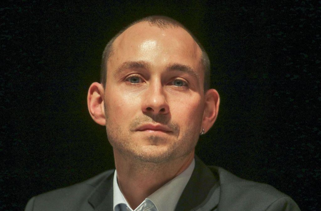 Stefan Belz hat die Sensation geschafft. Er wird neuer OB. Foto: factum/Granville