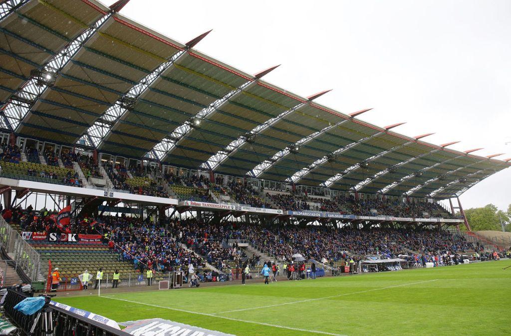 Wegen des Neubaus des Wildparkstadions wird heftig zwischen Stadt und KSC gestritten. Foto: Pressefoto Baumann/Hansjürgen Britsch