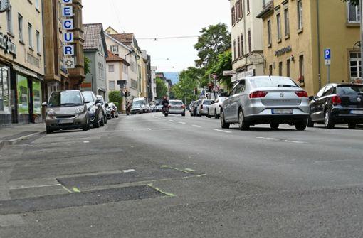 Wilhelmstraße ab Montag Einbahnstraße