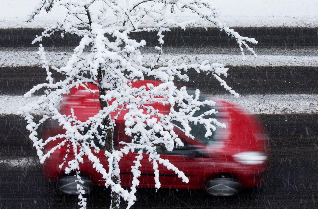 Der Sturm geht, dafür kommt der Winter wieder zurück in den Südwesten. Foto: dpa