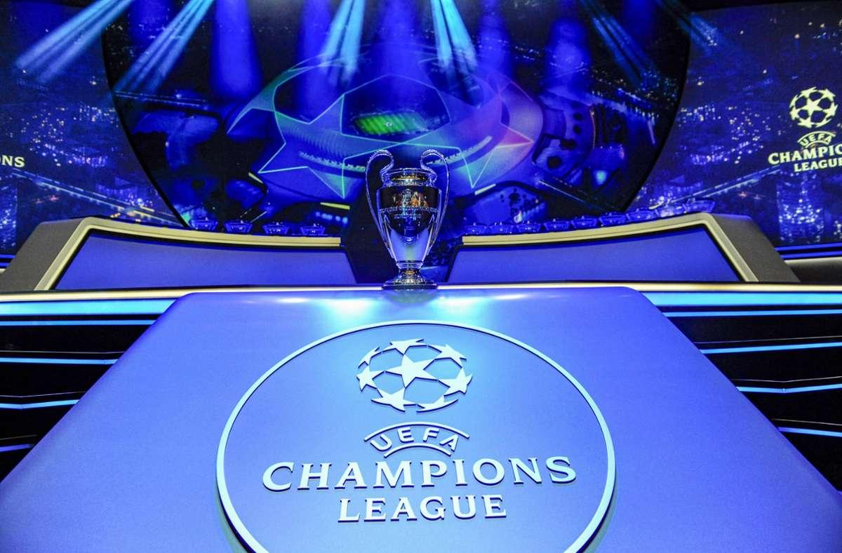 Am Donnerstag wird in Istanbul die Gruppenphase der Champions League ausgelost. Foto: imago images/PanoramiC/Norbert Scanella