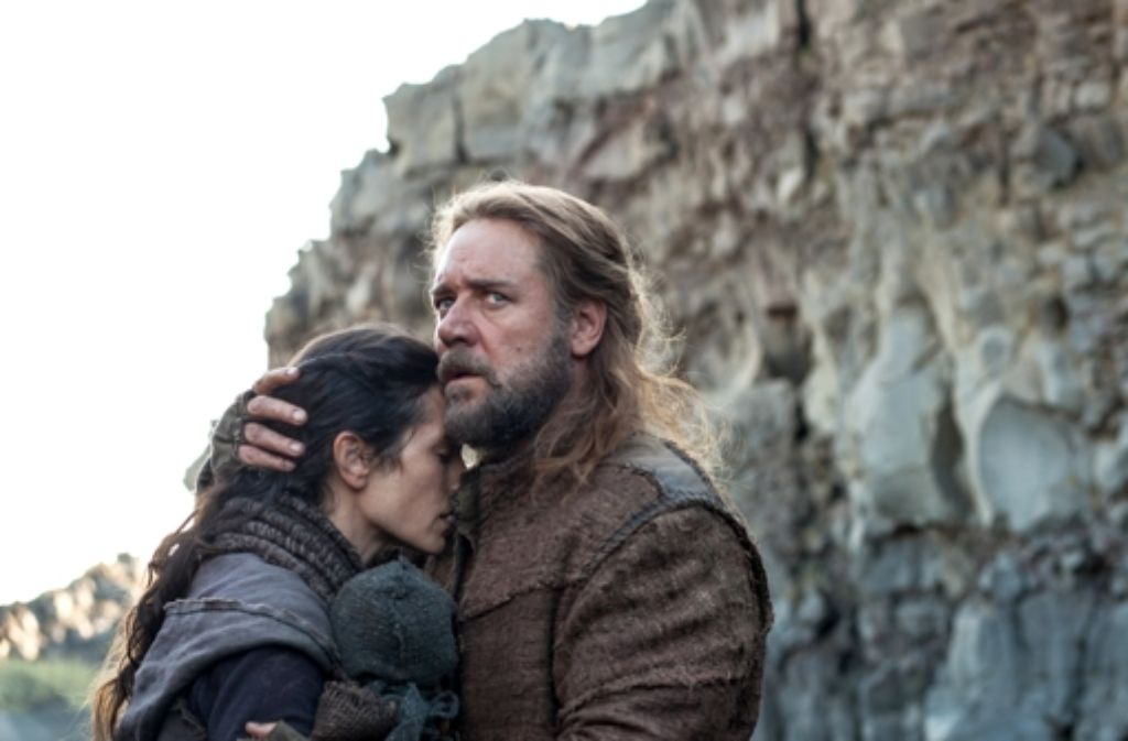 Auch wenn Noah (Russell Crowe) hier einen eher innigen Moment  mit seiner Frau (Jennifer Connelly) erlebt: im Dienst seines Gottes kennt er weder Milde noch Rücksicht. Foto: dpa