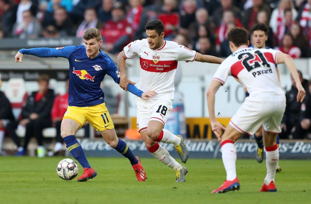 Der VfB Stuttgart hat gegen RB Leipzig 1:3 verloren. Unsere Redaktion hat die Leistungen der VfB-Akteure wie folgt bewertet. Foto: Bongarts