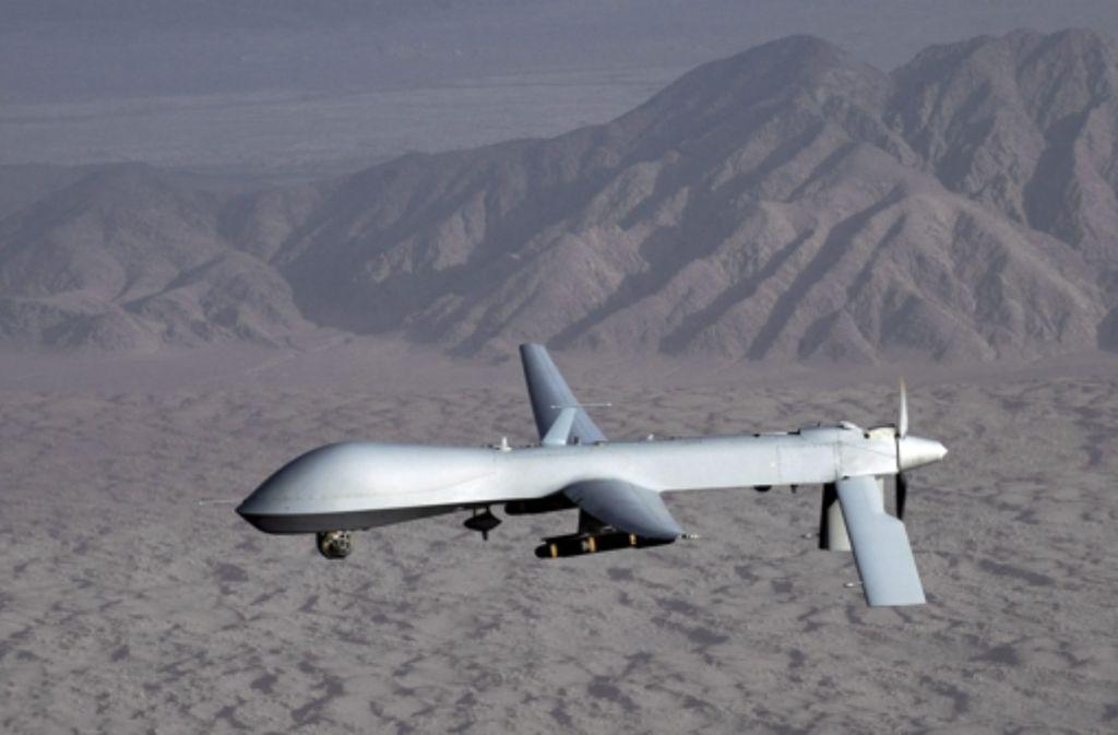 """US-Drohnen werden laut Recherchen von """"Panorama"""" und der """"Süddeutschen Zeitung"""" von Ramstein und Stuttgart aus gelenkt. Foto: US AIR FORCE FILE"""