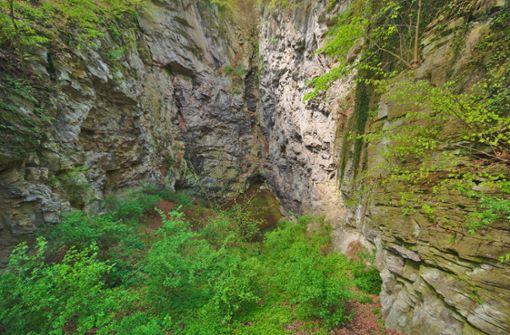 Hranická Höhle in Tschechien – 1000 Meter senkrecht in die Tiefe