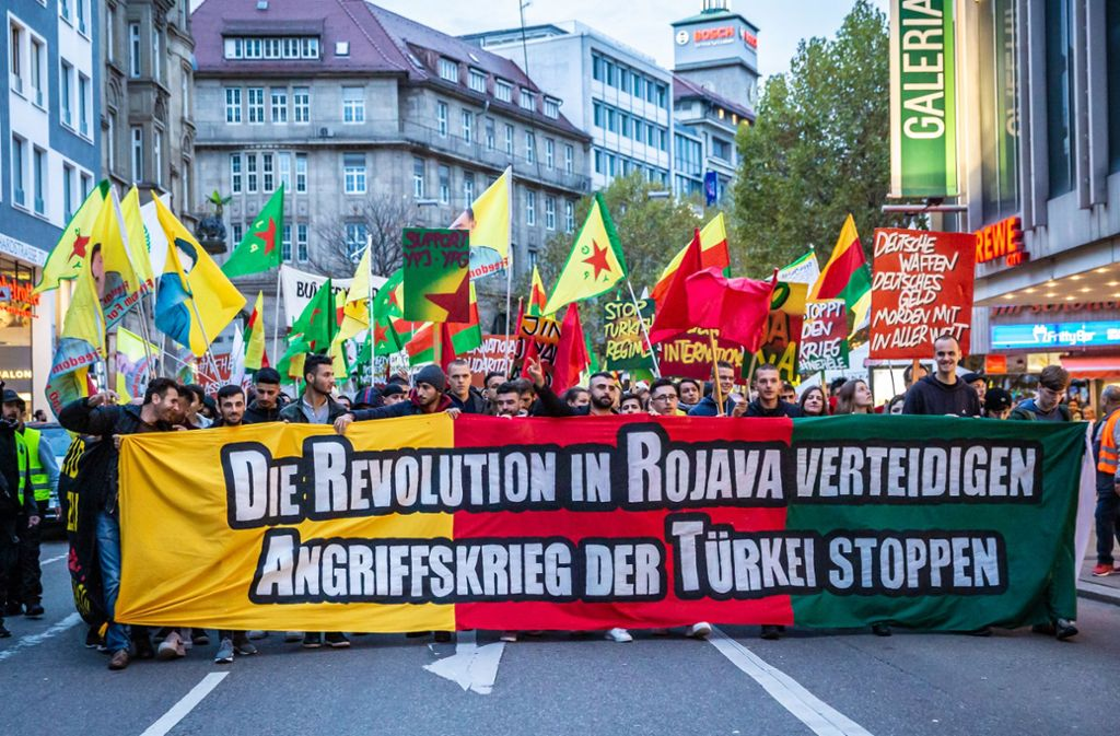 Mehrere Hundert Menschen haben an der Demonstration teilgenommen. Foto: Lichtgut/Julian Rettig
