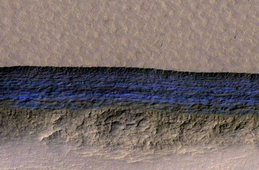 Sauberes Wasser auf dem Mars entdeckt