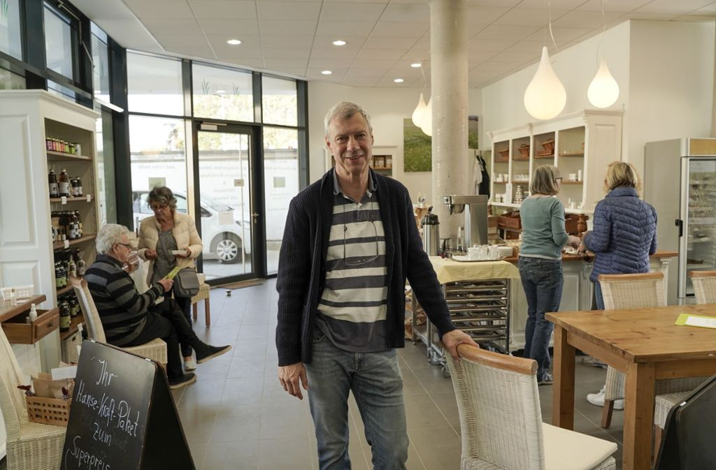 Peter Thole will Menschen von gesunder Ernährung überzeugen. Foto: factum/