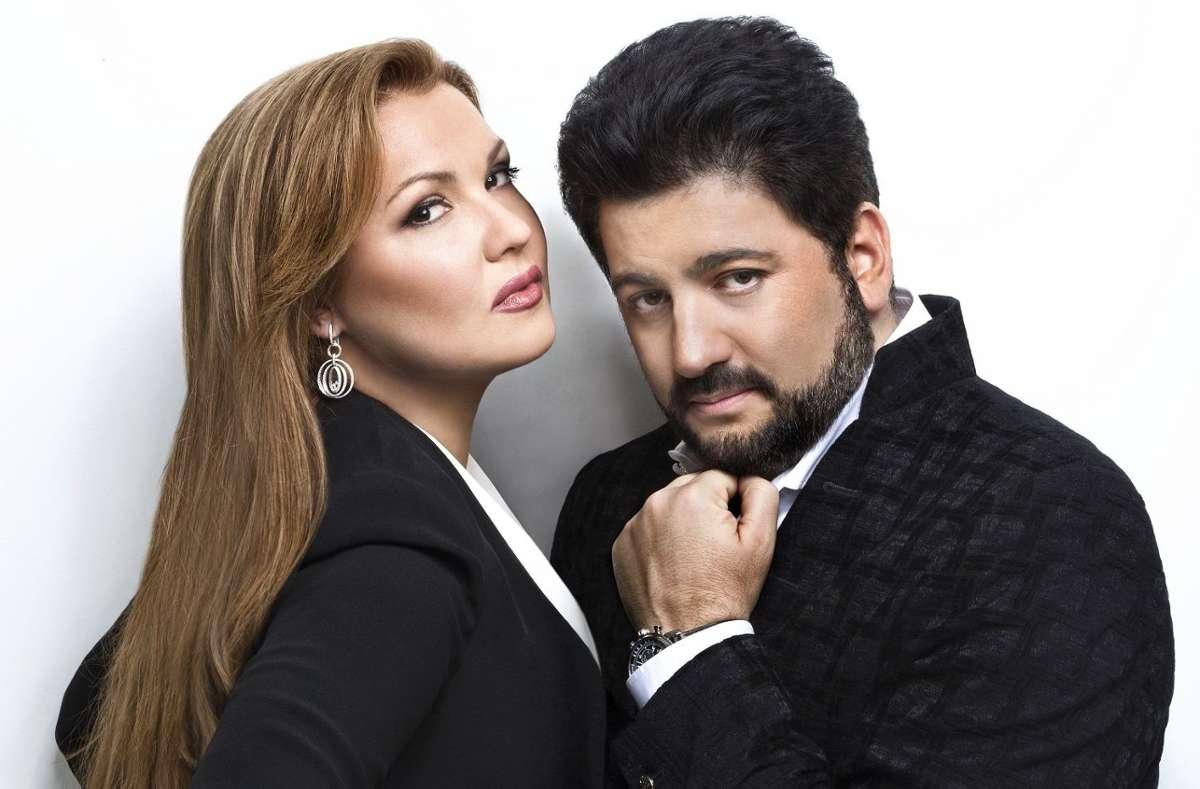 Anna Netrebko und Yusif Eyvasov  Foto: Vladimir Shirokov