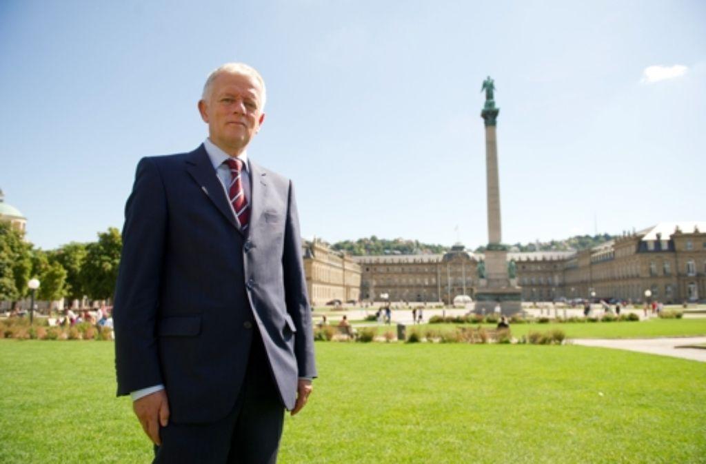 Fritz Kuhn (Grüne) will ins Stuttgarter Rathaus einziehen. Foto: dpa