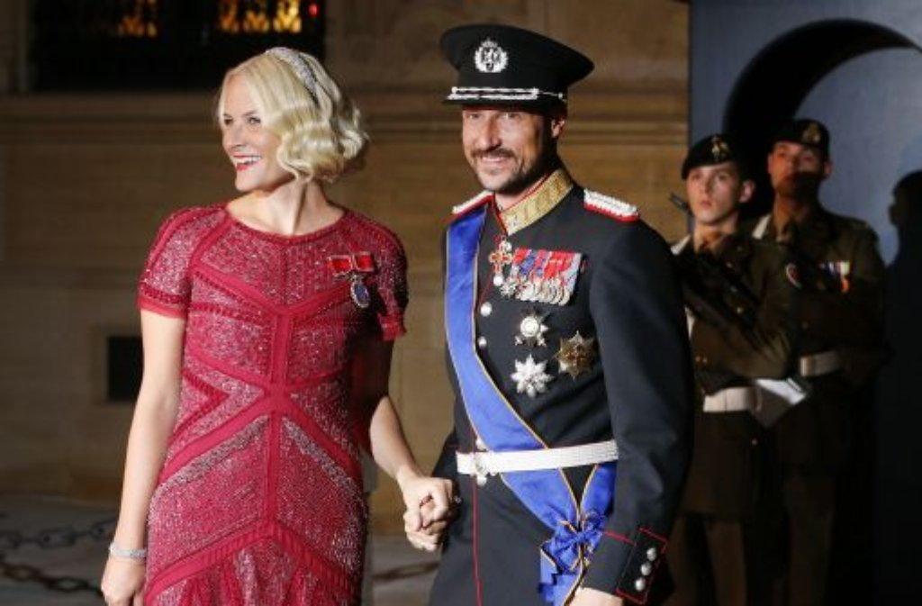 Kronprinz Haakon und Mette-Marit von Norwegen Foto: AP