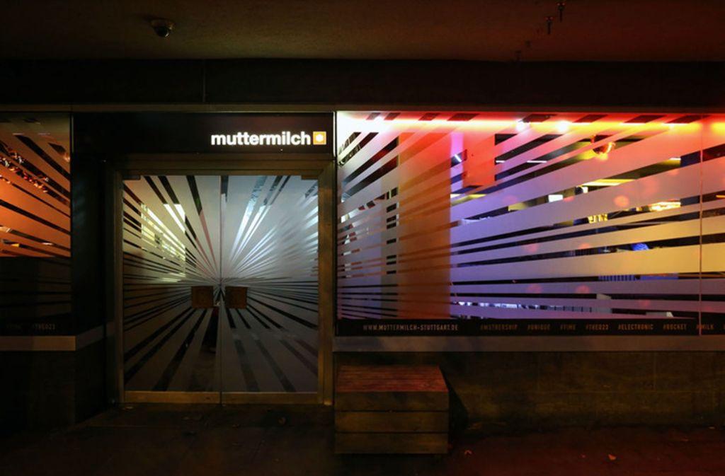 """Ende Juli ist die Party hinter den Türen des Clubs """"Muttermilch"""" in Stuttgart endgültig vorüber. Foto: Muttermilch"""