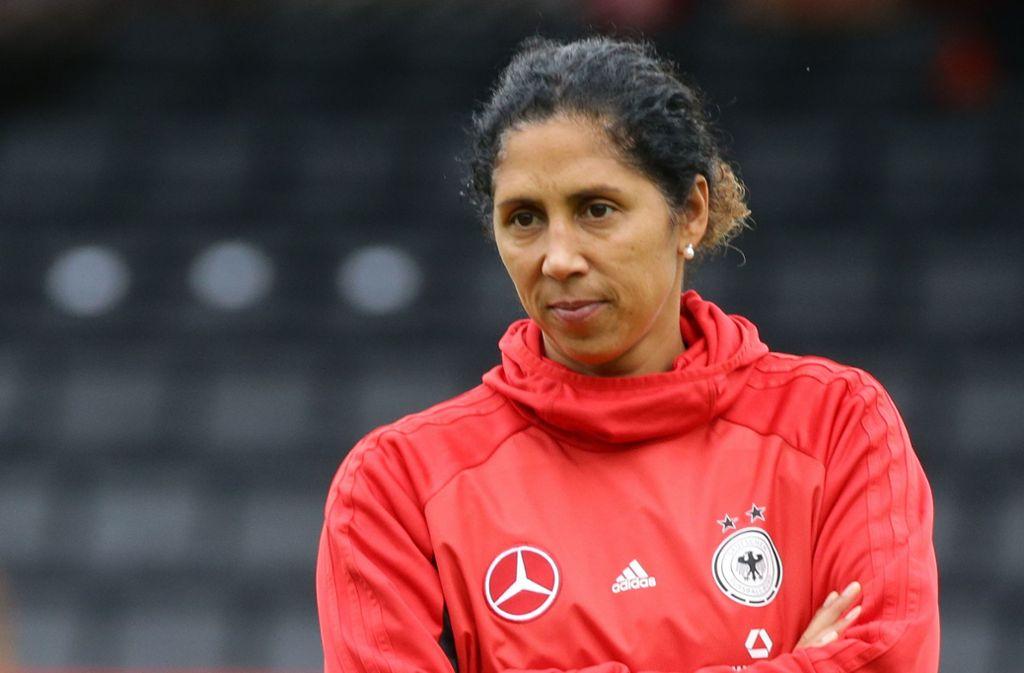 Steffi Jones wurde als Spielerin Weltmeisterin und war auch schon als Nationaltrainerin tätig. Foto: Bm