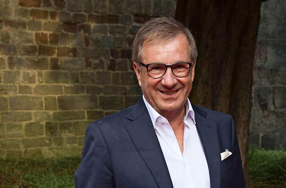 """Jan Hofer war 1985 zum """"Tagesschau""""-Team in Hamburg gestoßen. Seit 2004 ist er dort Chefsprecher. Foto: dpa/Swen Pförtner"""
