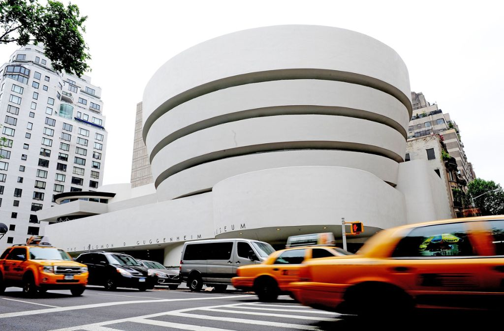 Architekturikone:  das Solomon R. Guggenheim Museum in New York, 1959 eröffnet Foto: AFP