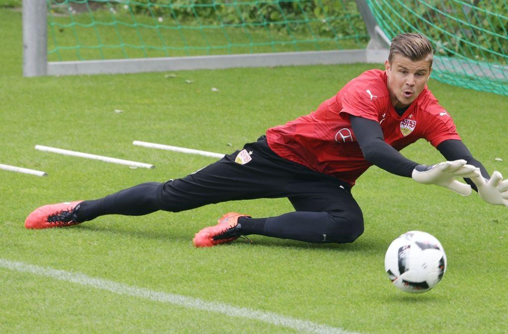 Mitch Langerak ist beim VfB Stuttgart die unangefochtene Nummer eins. Foto: Pressefoto Baumann