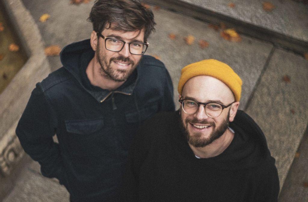 """Niklas (links) und Johannes Kizler sehen den """"Struwwelpeter"""" als Erwachsene mit anderen Augen. Foto: privat"""