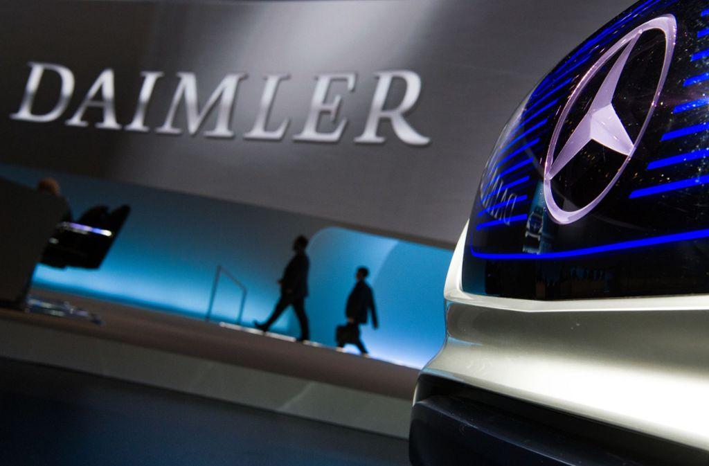Der Autobauer Daimler hat eine Gutschein-Aktion gestartet. Foto: dpa/Soeren Stache
